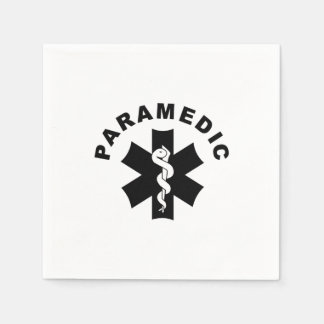 Paramedicinskt tema papper servetter
