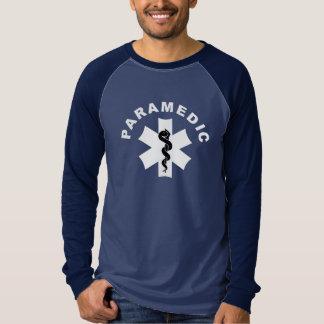 Paramedicinskt tema tee shirt