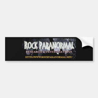 Paranormal logotyp 2 för sten bildekal