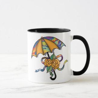 Paraply med ro 01 mugg
