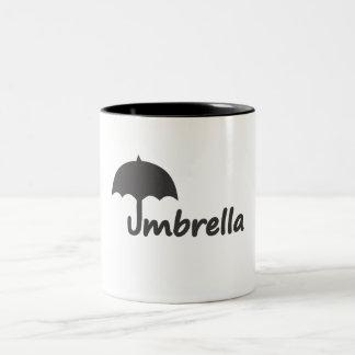 Paraply Två-Tonad Mugg
