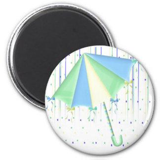 Paraplybaby shower magnet rund 5.7 cm
