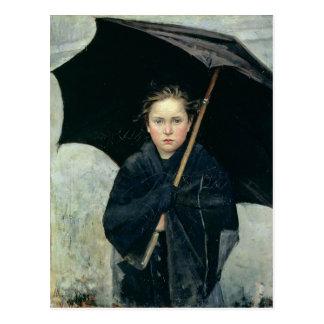 Paraplyet vid den Marie Bashkirtseff CC0220 Vykort