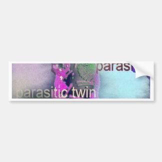 Parasitic CD täcker. (lilor) Bildekal