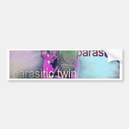 Parasitic CD täcker. (lilor) Bildekaler