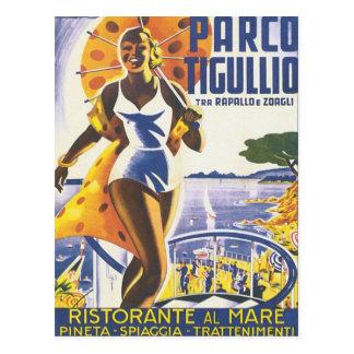 Parco Tigullio vintage Vykort