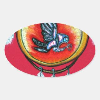 Pari Chumroo produkter Ovalt Klistermärke