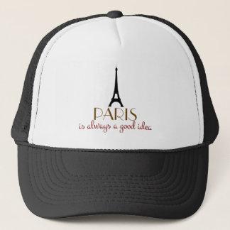 Paris är alltid en bra idé truckerkeps