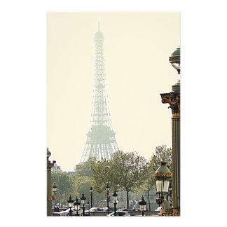 Paris det eiffel torn brevpapper