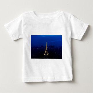 Paris Eifel torn på natten T-shirts