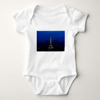 Paris Eifel torn på natten Tshirts