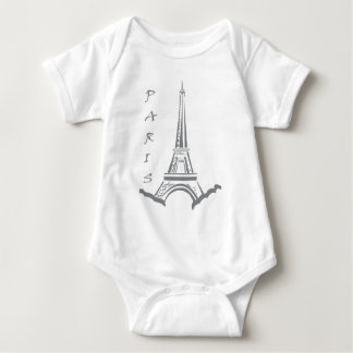 PARIS Eiffel torn Tee Shirts