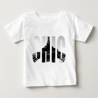 Paris för bylte för Wellcoda Eiffel torn chic Tee