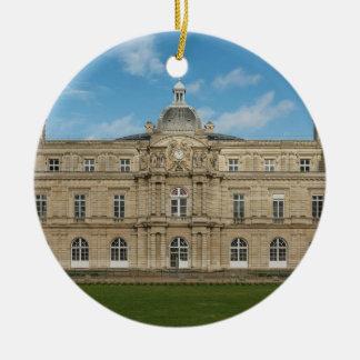 Paris för senat för Luxembourg slott franska Julgransprydnad Keramik