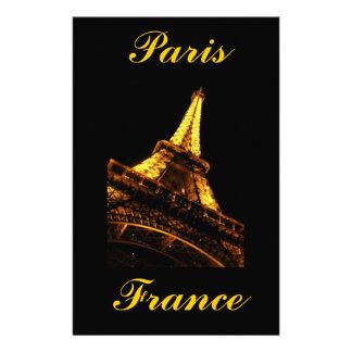 Paris frankrike, Eiffel torn, brevpapper