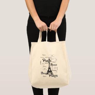 Paris frankrikegåvor och souvenir tygkasse