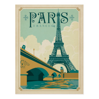 Paris frankriken - Eiffel torn Vykort