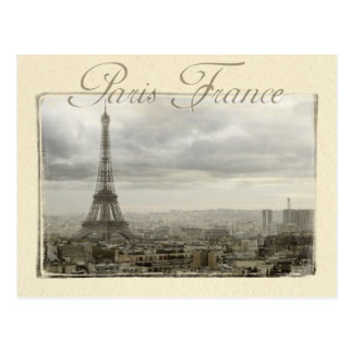 paris frankriken vykort