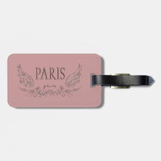 PARIS Je t'aime (jag älskar dig), Bagagebricka