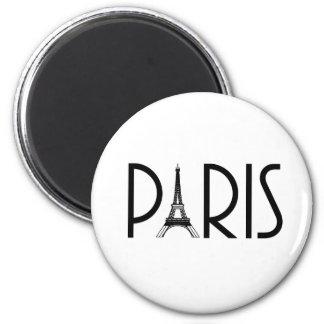 PARIS magnet Magnet Rund 5.7 Cm