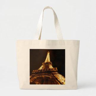 Paris mode hänger lös jumbo tygkasse