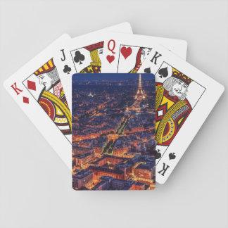 Paris på natten casinokort