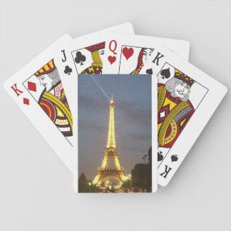 Paris på natten: Eiffel torn Casinokort