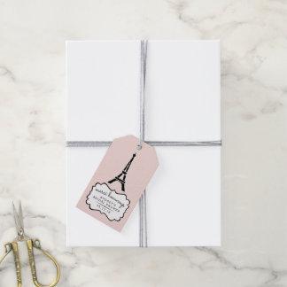 Paris romanskt möhippatack presentetikett