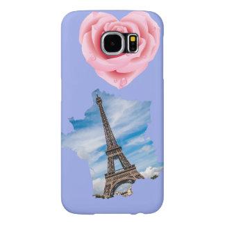 Paris rosa fodral galaxy s5 fodral