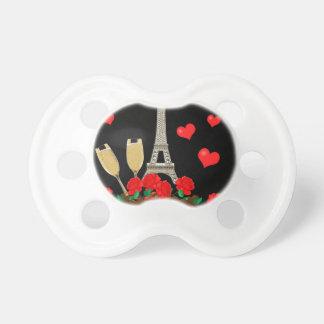 Paris - stad av kärlek barn napp