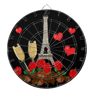 Paris - stad av kärlek piltavlor