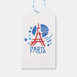 Paris turism presentetikett