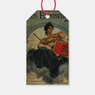 Paris utläggning 1900 - fransk annonskonst för presentetikett