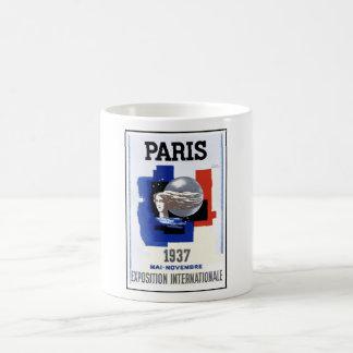 Paris utläggning 1937 kaffemugg
