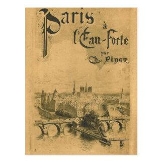 Paris utställning 1900 vykort