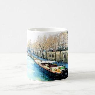 Paris vid dag kaffemugg
