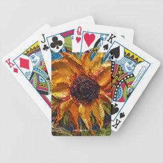 Pariss gula solroskort spelkort