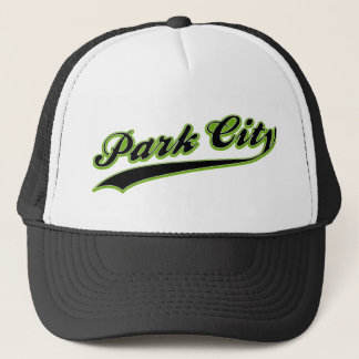 Park City baseballhatt Truckerkeps