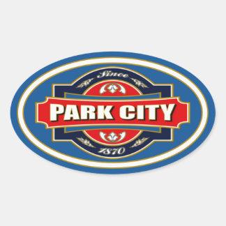 Park City gammal etikett