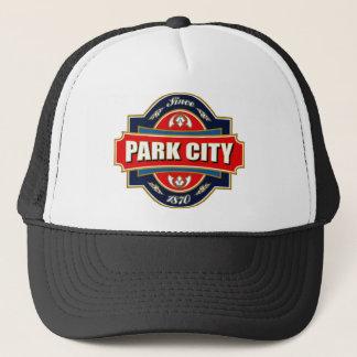 Park City gammal etikett Keps