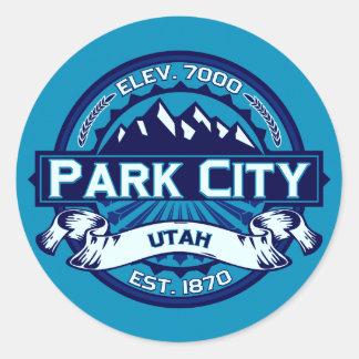 Park City isklistermärkear Runt Klistermärke