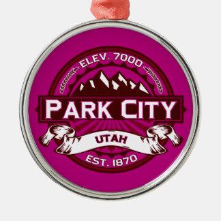 Park City logotyphallon Julgransprydnad Metall