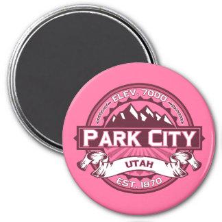 Park City logotypkaprifol Magnet