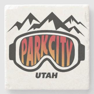 Park City Utah Collectible marmorkustfartyg Underlägg Sten