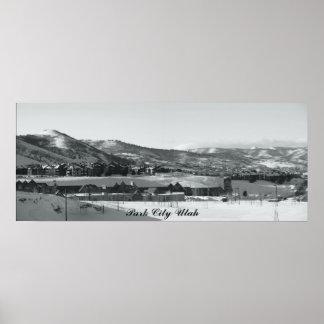 Park City Utah Poster