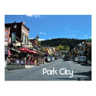 Park City Utah Vykort