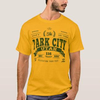 Park City vintagegrönt Tröjor