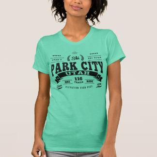 Park City vintagesvart T-shirt