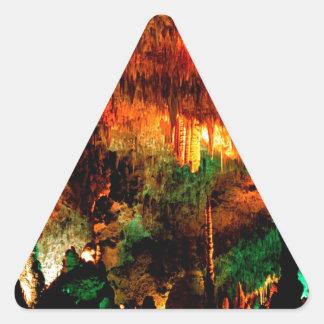 Parkera det stora rummet nya Carlsbad - mexico Triangelformat Klistermärke