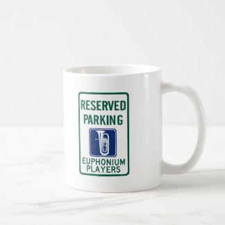 Parkera för Euphoniumspelare Kaffemugg